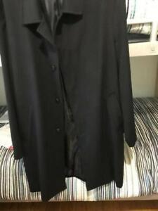 Men's 3/4 woollen lightweight coat