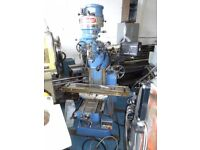 BRIDGEPORT TYPE BRJ TURRET MILLING MACHINE