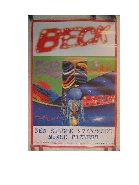 Beck Poster Mixed Bizness