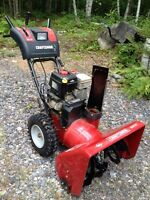 "9.5 hp   27"" Craftsman snowblower"