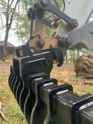 48 Bobcat Mini Excavator Rake. Fits Pin Style X-change