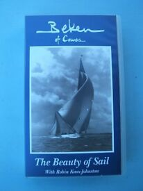 VHS Video Beken of Cowes Isle of Wight The Beauty of Sail Robin Knox-Johnston