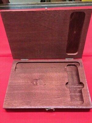 Starrett 919 Wood Case For 55 Master Precision Square Beveled Edge  In Stock