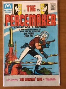 THE PEACEMAKER #1 comic book - 1978 - higher grade - $20.