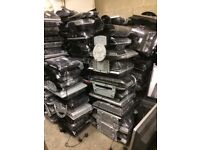 Job lot of 300 tvs, all tested and working; 60 are size 15-17 inch; 240 are size 19-24 inch