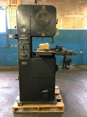 Doall Vertical Bandsaw 16 Bandsaw With Welder And Power Feed