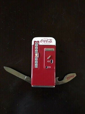 FRANKLIN MINT COCA COLA MACHINE KNIFE NEW UNUSED COLLECTIBLE