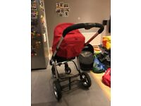 Icandy Apple pray and buggy travel system