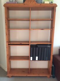 Pine bookshelf / bookcase for sale