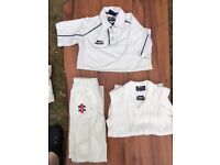 cricket clothes bundle junior>youth 10-14 years old