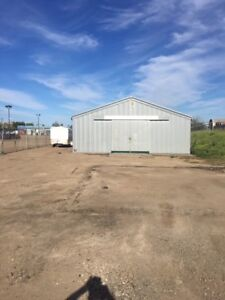 Commercial Yard And Shop For Rent
