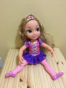 Rapunzell doll - good condition - $5