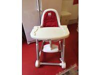 High chair, Inglesina, Harrow