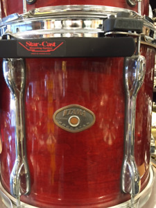 Preowned Tama Rockstar 5 piece Shells + Tom mount incl.