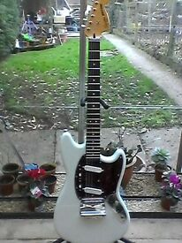 Squier Mustang Indonesian made .. Swap for an Epiphone Explorer anyone?
