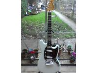 Squier Mustang Indonesian made + hardcase.. Swaps available on this, read on.