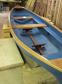 2 man coastal rowing skiff