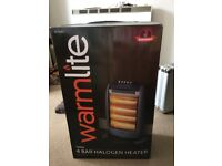 Warmlite 4 Bar Halogen Heater 1600W