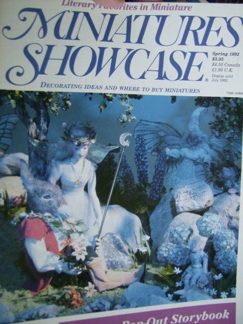 Miniatures Showcase Mag Spring 1992 Pop-Out Storybook, Literature, Midsummer Nig
