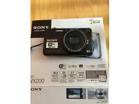 Sony DSCWX200 Digital Compact Camera with WI-FI.
