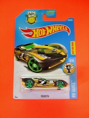 - HOT WHEELS HW GAMES 3/10 VELOCITA SHOWDOWN  SCAN & RACE CARD