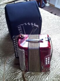 Hohner Erica Button key accordian