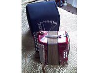 Hohner Erica Button key accordian