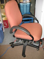 High Back Office Chair Chaise Bureau Adjustable