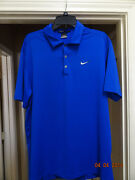 Tiger Woods Nike Golf Shirts Large