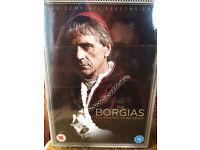 "DVD box set of ""The Borgias"" staring Jeremy Irons"