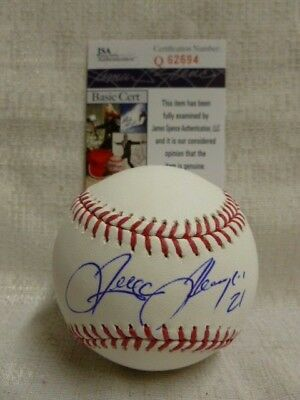 Trayce Thompson Signed White Sox Dodgers As Major League Baseball JSA Q62694