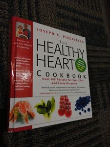 THE HEALTHY HEART COOKBOOK HARDCOVER BY JOSEPH PISCATELLA NEW London Ontario image 3