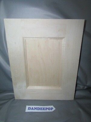 Maple Shaker Flat Unfinished Kitchen Cabinet Door 8 3/4 x 10 7/8 For Painting