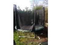 Plum trampoline 8ft