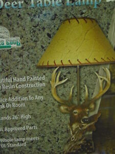 Deer and Horse Lamps for Sale London Ontario image 2