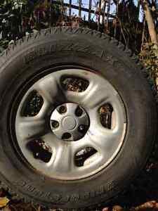 225/75R16 Winter Tires Kitchener / Waterloo Kitchener Area image 1