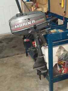 2.5 hp Mariner 2stoke for sale