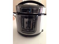 Pressure cooker: used sparingly now for sale.