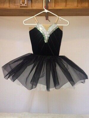 White Adult Tutus (Black, White & Silver Youth & Adult Ballet)
