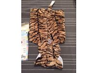 Tiger costume for kids 3-8 years