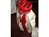 Mizuno Carry Golf Bag with Club Rain Cover,