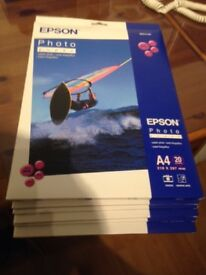 10 sealed packs Epson Photo Paper 194 gm/m2. - Price Reduced