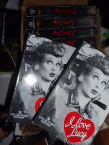 I LOVE LUCY LUCILLE BALL THE COLLECTOR'S EDITION 20 VIDEOS