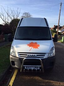 WHITE IVECO DAILY 35S12 LWB 2007 , LITTLEHAMPTON, QUICK SALE!!!!
