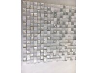 Porcelanosa Eternity White Mosaic Wall Tiles and Adhesive