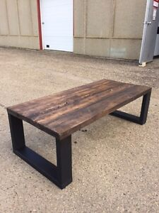 Handmade Dark Walnut Coffee Table