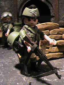 PLAYMOBIL-SUBOFICIAL-WEHRMACHT-CUSTOM-FRONT-ORIENTAL-1942-REF-0478-BIS