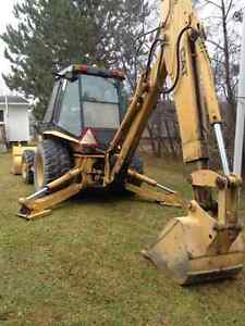 1987 Caterpillar backhoe