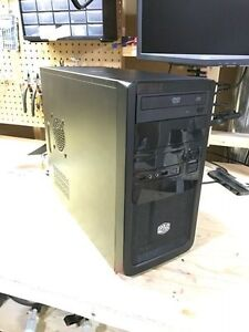 Cooler Master Elite 343 mATC computer case with PSU and SATA DVD