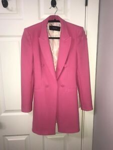 Super Cute ZARA Hot Pink Blazer -- XS